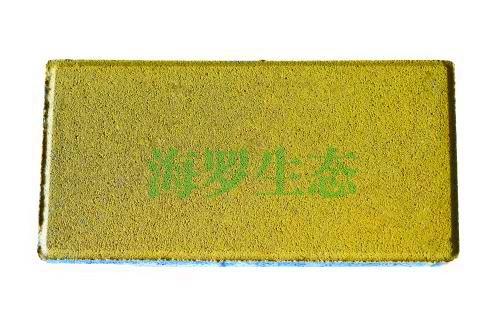 黄色透水砖