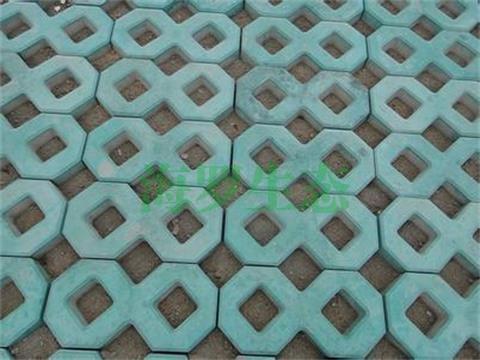 绿色植草砖