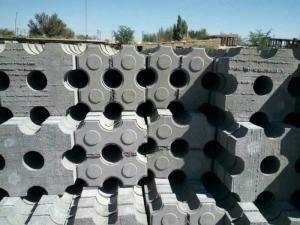 井字植草砖