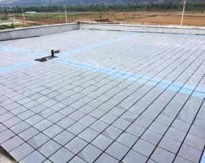 屋面砖铺设